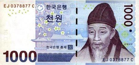 韩币头像都有谁?