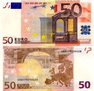 50欧元面值图片