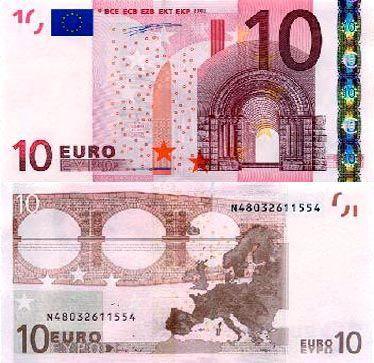10欧元面值图片