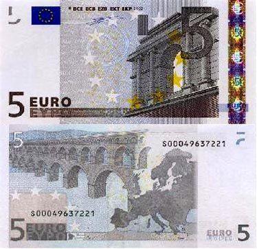 5欧元面值图片