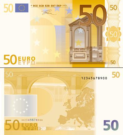 欧元图案介绍