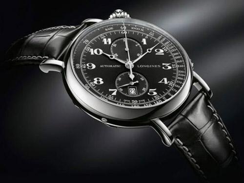 浪琴A-7型空中导航腕表