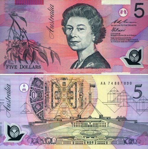澳元纸币图片介绍