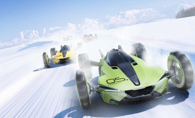 Peugeot标致XRC概念车曝光
