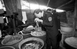 黑作坊被查用臭水做泡菜 食品安全隐忧