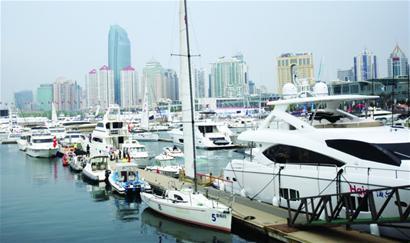 航博会卖出6000万元游艇 青岛200人有驾照