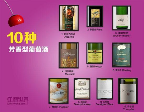 世界10大芳香葡萄酒