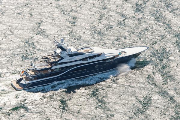 Lürssen 85米豪华游艇「Solandge」海试成功