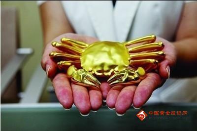 """银行推出""""黄金大闸蟹"""" 中秋送礼好选择"""
