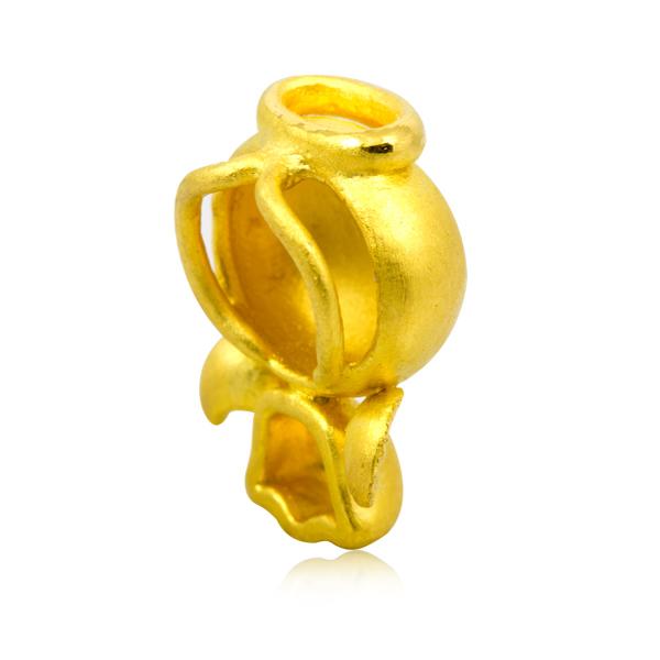 越王珠宝3D硬金福星宝宝天使吊坠图片_珠宝图片
