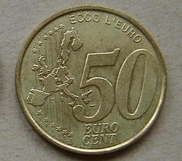 50分欧元硬币介绍