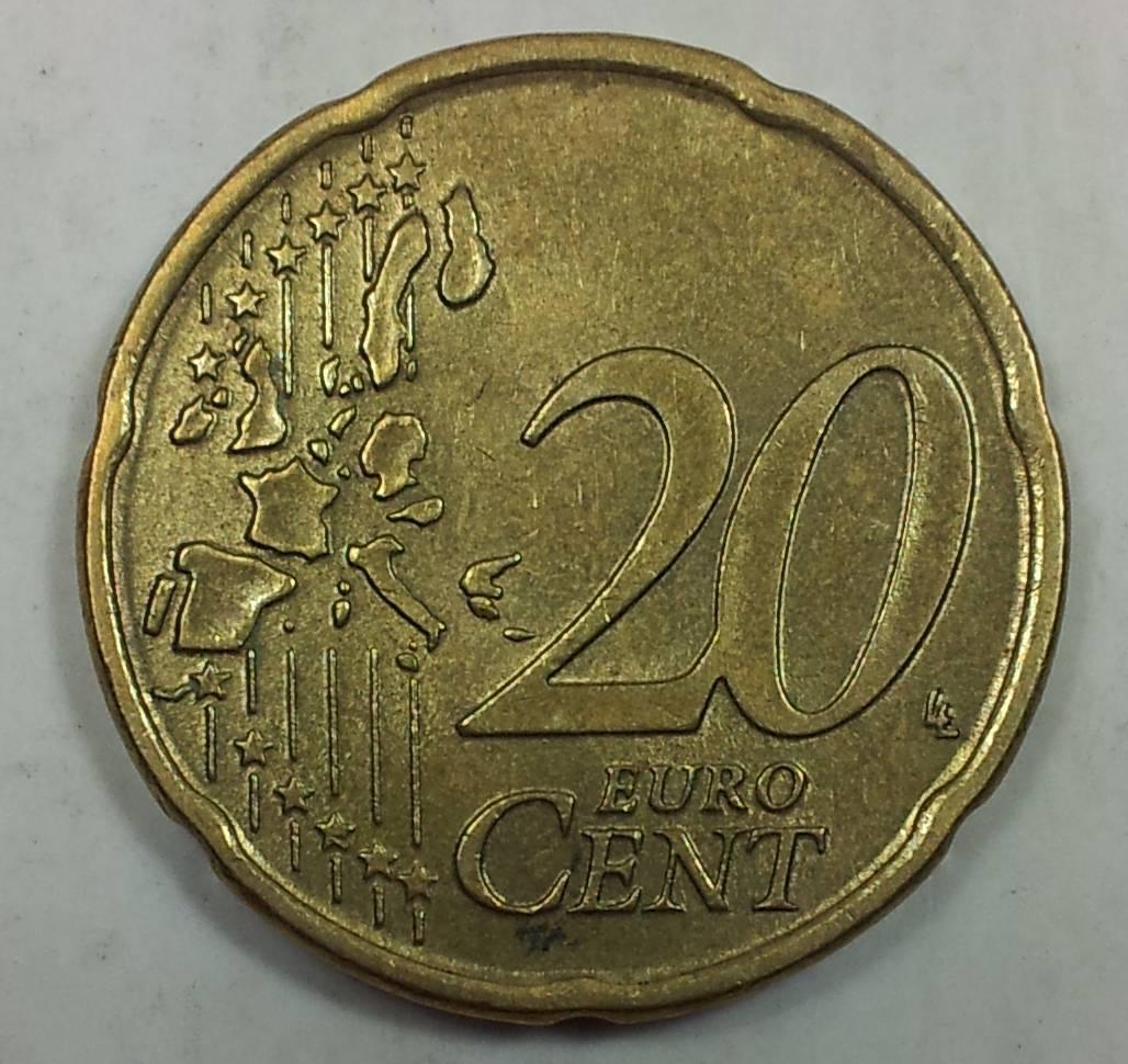 20分欧元硬币介绍