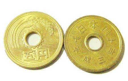5日元硬币构造及寓意介绍
