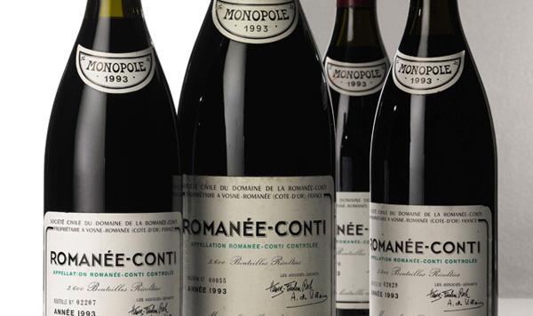 罗曼尼·康帝名酒拍卖再次刷新世界记录