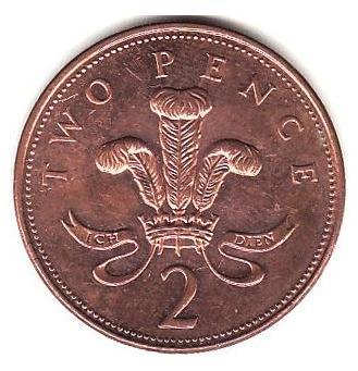 2便士英镑硬币介绍