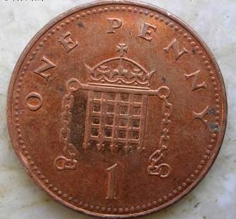 1便士英镑硬币介绍