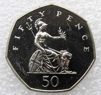 50便士英镑硬币介绍