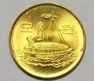 5元韩国硬币介绍