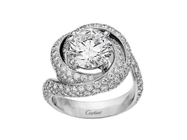 Cartier卡地亚缔造四枚爱与钻石之戒