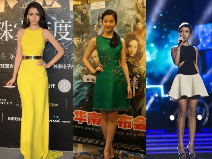 刘亦菲领衔女星集体开发侧腰裸露新尺度