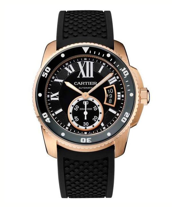 卡地亚推出全新「Calibre de Cartier」潜水腕表