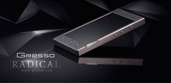 奢侈品手机Gresso Radical推出智能版