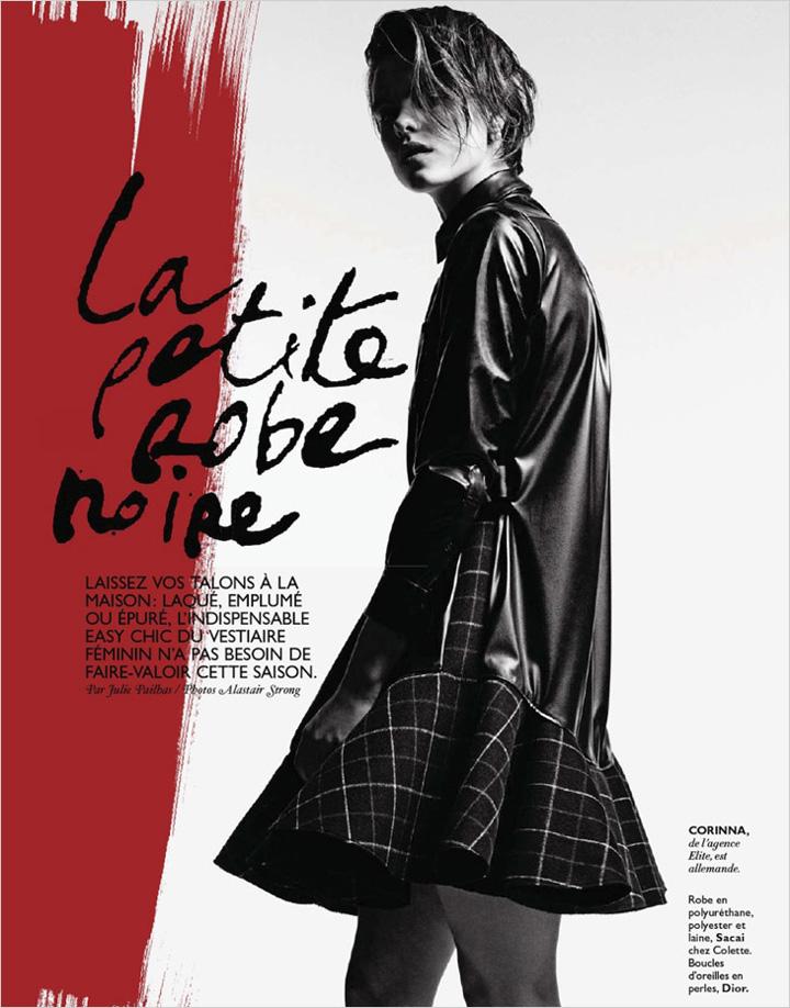 Corinna Ingenleuf 重新演绎小黑裙的无限魅力