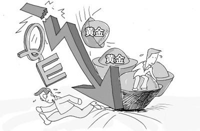 金价2013年大跌28%_2013年金价大跌_金价岁末暴跌_4月金价大跌_2013年黄金价格回顾
