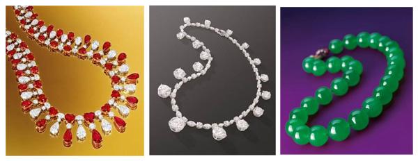 三条珠宝品牌经典顶级项链将现身香港苏富比2014春拍