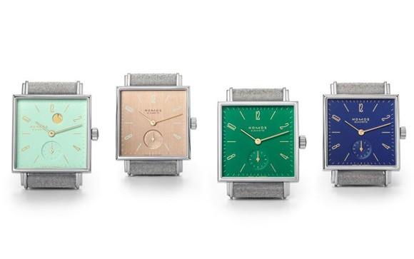 NOMOS手表品牌推出四款全新Tetra系列腕表