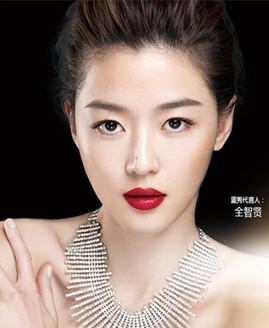 全智贤版代言最新蓝秀化妆品广告大片