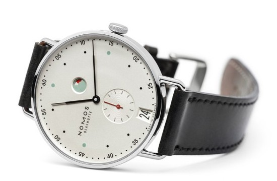 Nomos 诺莫斯推出全新Metro系列动力存储腕表