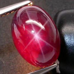 星光红宝石鉴定方法