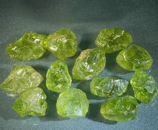 橄榄石产地分布