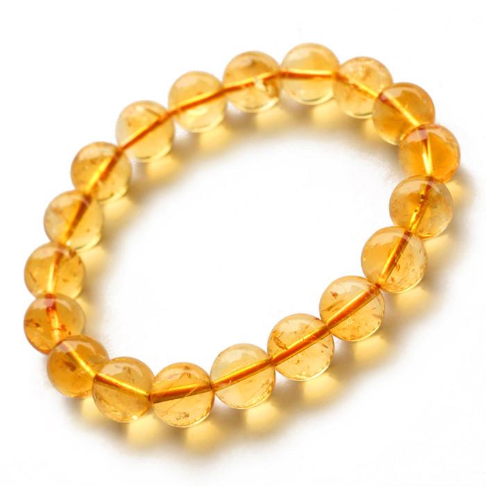黄水晶手链戴哪只手