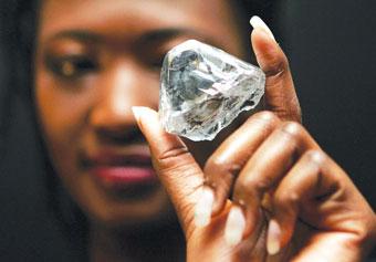 库里南钻石加工