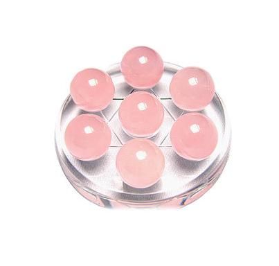 粉水晶消磁保养方法