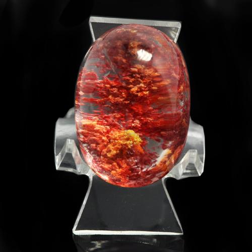 红水晶的成色鉴别
