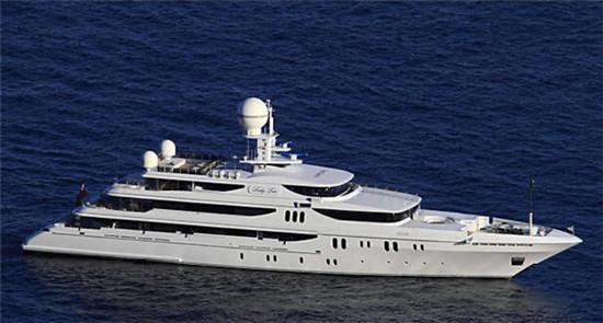 超级富豪刘銮雄曾购入一艘价值7亿的私人游艇