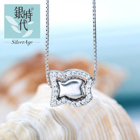 银时代【珍藏】爱鱼悦韩版项链图片_珠宝图片