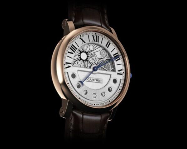 卡地亚手表不到2年表镜脱落