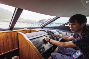 游艇驾照走近寻常百姓 越来越多人选择自己驾艇出海