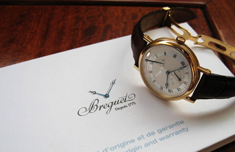 宝玑手表的标志是由什么组成的?