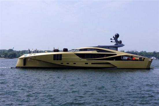 Palmer Johnson 发布48米碳纤维系列运动游艇