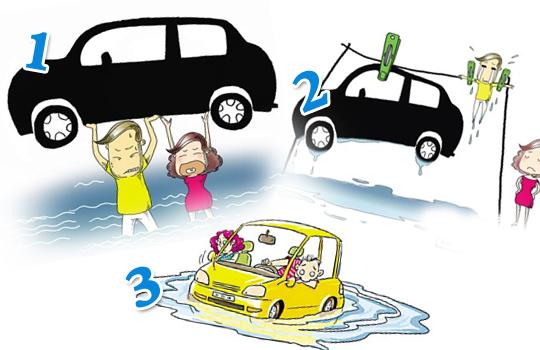 独家!台风季节三种车险附加险不可少