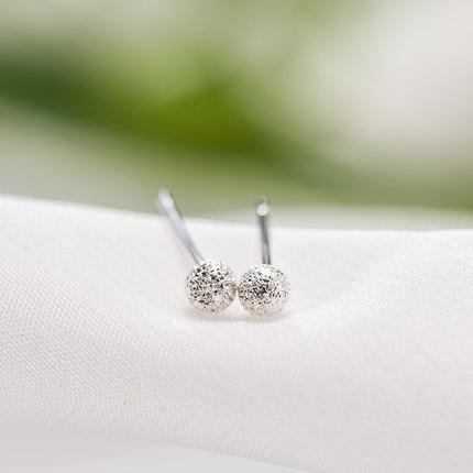银时代点睛925银气质耳针图片_珠宝图片