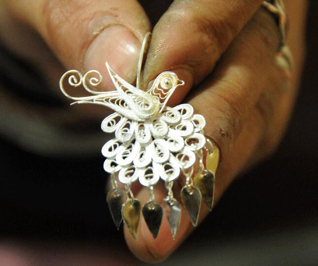 银饰在中国的数千年文化