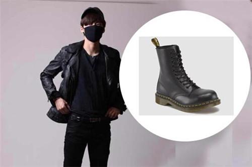百里屠苏李易峰与他的Dr. Martens男鞋一样火的不得了