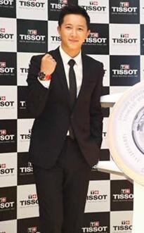 天梭名表品牌携手韩庚为2014仁川亚运会广告形象揭幕
