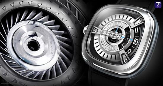 Sevenfriday 名表品牌特别推出全新M系列机械腕表
